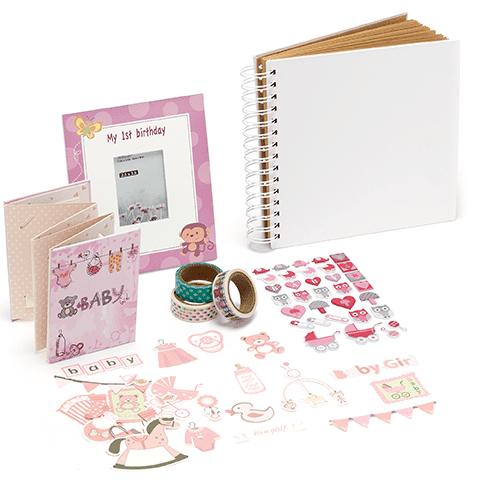 Baby bundel instax mini Pink