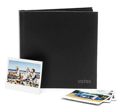 Peel & Stick instax scrapbook