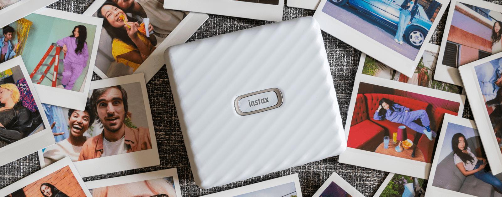 NIEUW: de instax Link WIDE smartphoneprinter