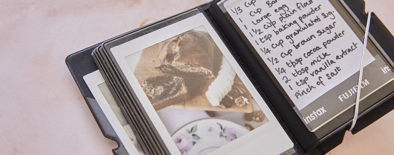 Hoe maak je een instax mini kookboek? Lees het hier!