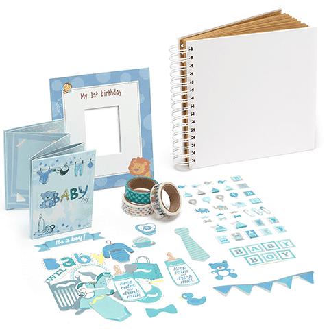 Baby bundel instax mini Blue