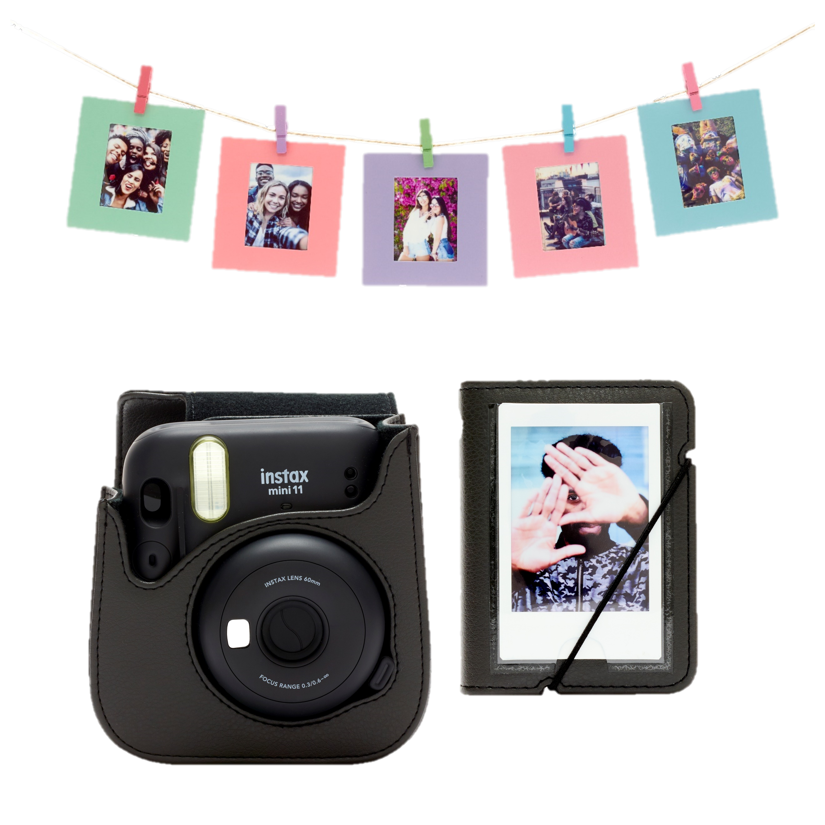 Accessoire kit instax mini 11 - Charcoal Gray
