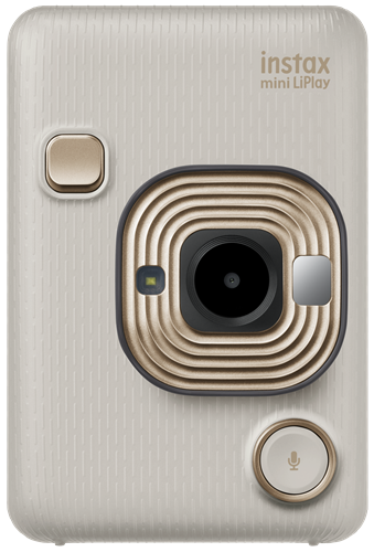 instax mini LiPlay Beige Gold