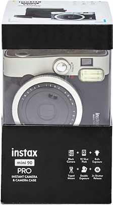 instax mini 90 Black Bundel