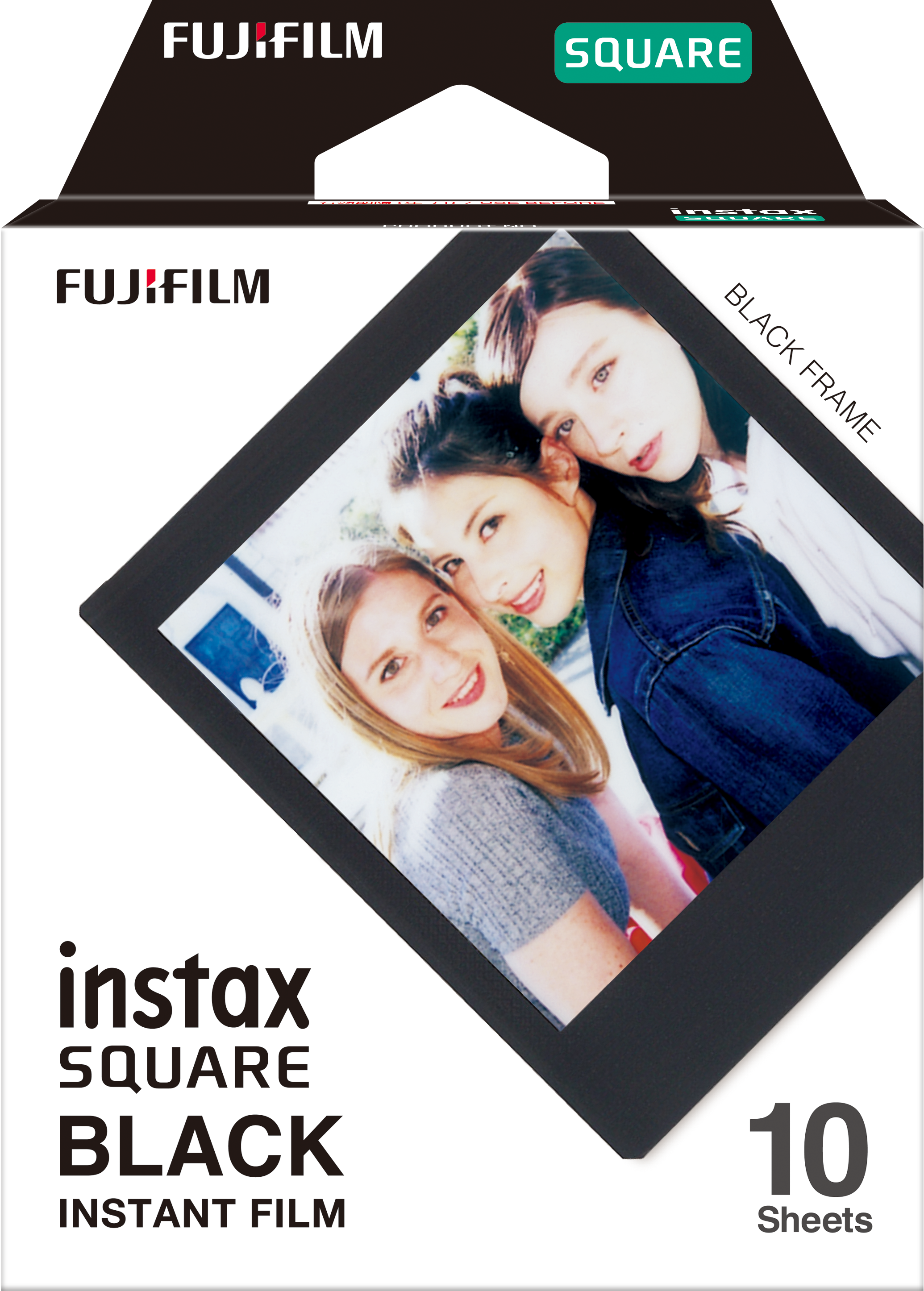 instax SQUARE film - Black Frame