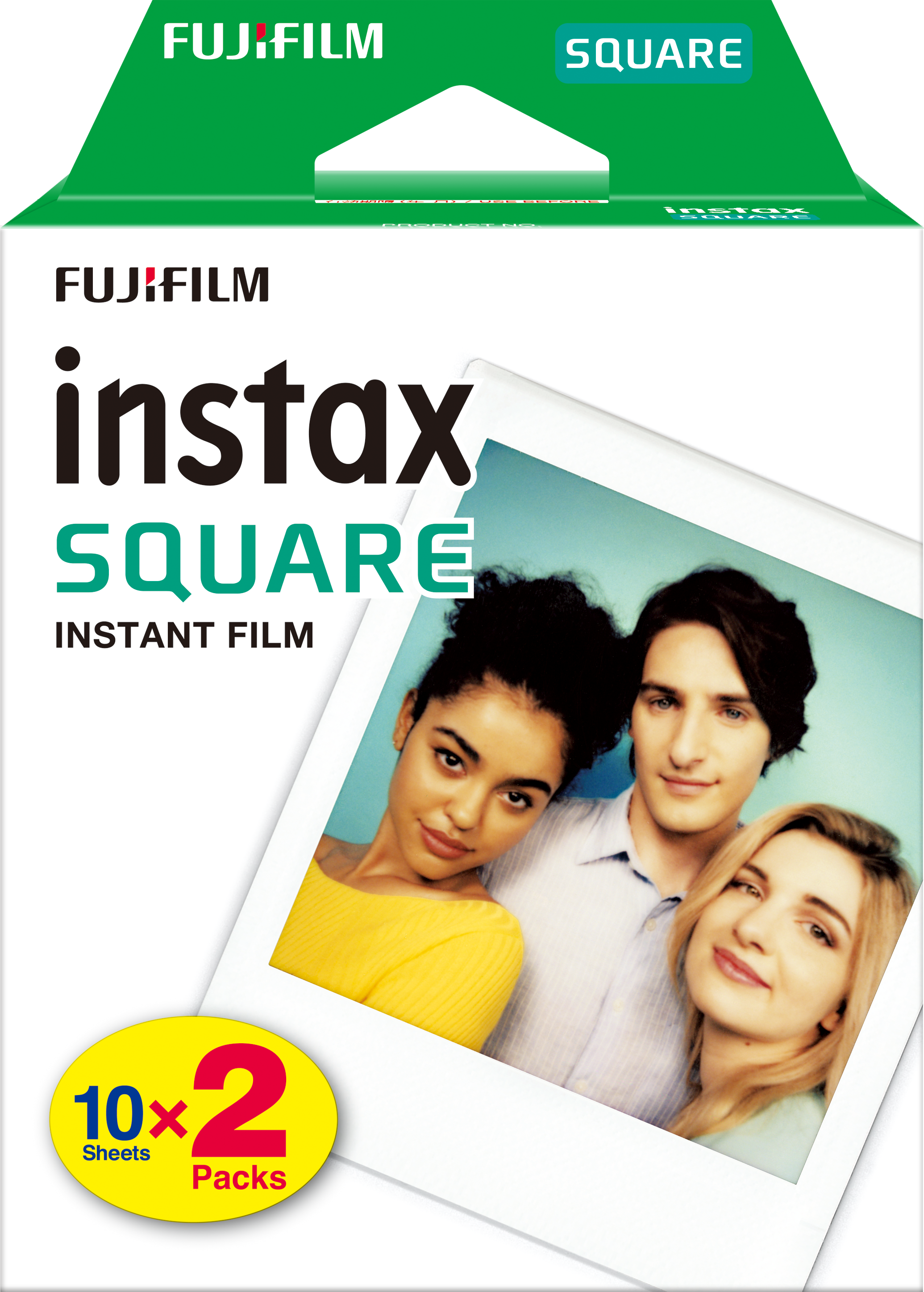 instax SQUARE film - dubbelpak